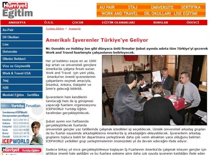 Amerikalı işverenler Türkiye'ye geliyor