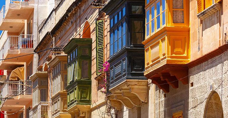 Malta Şehirler